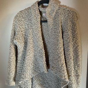 Q Brand Wrap Sweater Size M